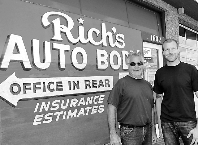 Second Generation Steps Up at Rich's Auto Body Shop